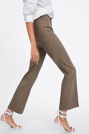 Zara Rechte broek met hoge taille