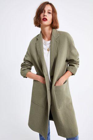 Zara Oversized jas met zakken