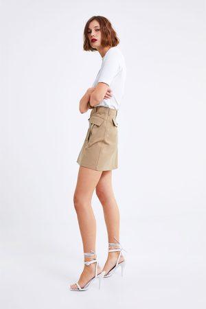 Zara Minirok met zakken