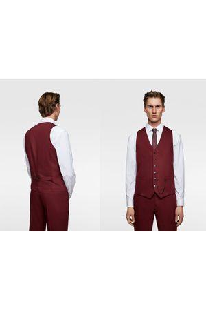 Zara Comfortabel cinzato gilet – tailoring