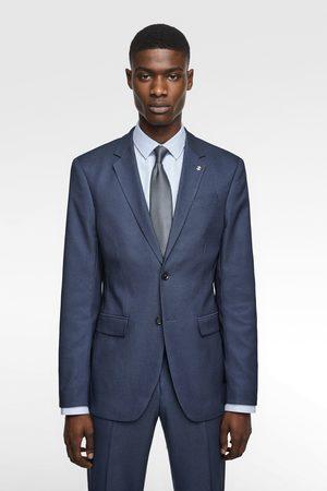 Zara Kostuumblazer met structuur en coolmax® core technology