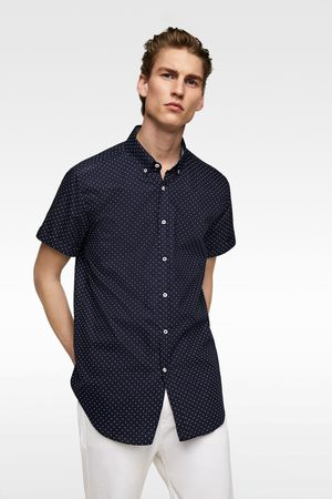 Zara Oxford overhemd met stippen