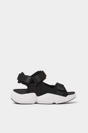 Zara Technische sandalen met extra dikke zool