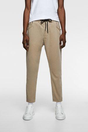 Zara Cropped broek soft