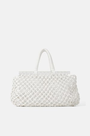 Zara Shopper van methacrylaat en netstof