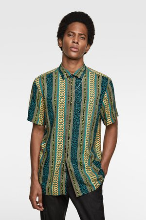Zara Overhemd met kettingprint
