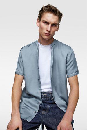 Zara Satijnen blouse