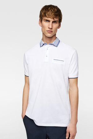 Zara Heren Poloshirts - Piqué polo met combi-kraag