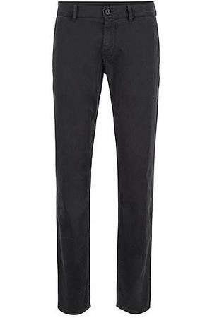 HUGO BOSS Heren Chino's - Slim-fit broek van stretchkatoen