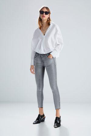Zara Jeans z1975 met rits in de zoom