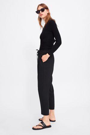 Zara Broek met elastische tailleband