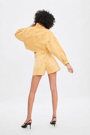 Zara Denim short met hoge taille