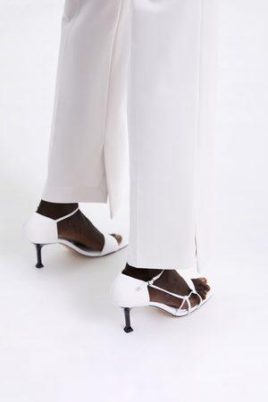 Zara Skinny broek met splitjes