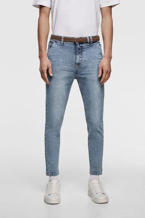 Zara Cropped jeans in carrot fit