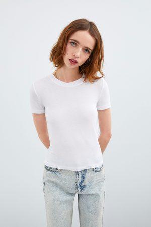 Zara T-shirt met korte mouwen