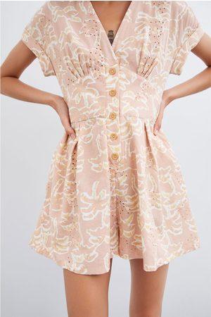 Zara Rustieke jumpsuit met print