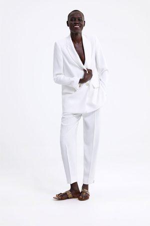 Zara Soepelvallende skinny broek