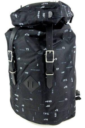 The Pack Society Premium backpack met trekkoord en klepsluiting Numbers allover