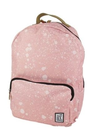 The Pack Society Classic Backpack Coral spatters allover