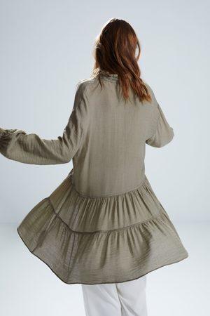 Zara Korte jurk met volant