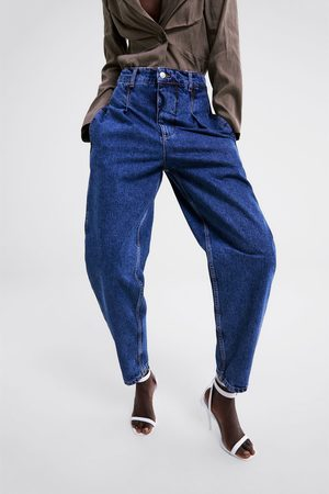 Zara Jeans zw premium denim pleat pant