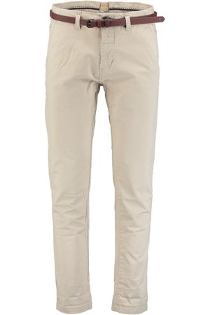 Dstrezzed Heren Chino's - Chino pants belt Stretch Twil 501146-NOS/251