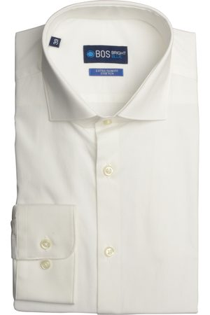 Bos Bright Blue Overhemd extra slim fit 18306WE60BO/100 White