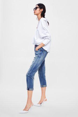 Zara Z1975 jeans met scheuren