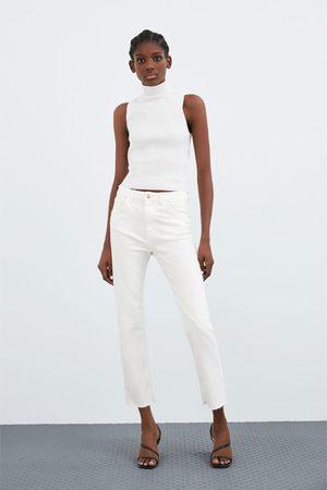 Zara Slim fit jeans met hoge taille
