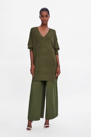 Zara Lange tricot trui