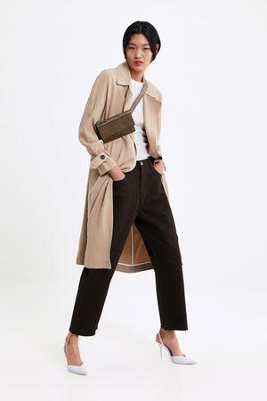 Zara Soepelvallende trenchcoat met zakken
