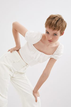 Zara Popeline top