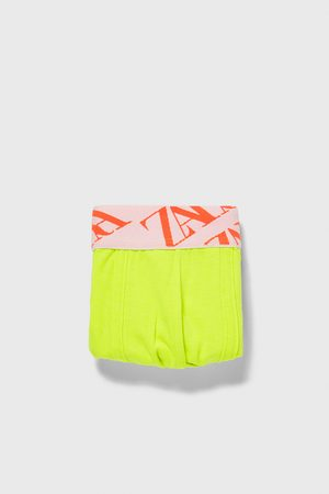 Zara Boxershort met jacquard taille