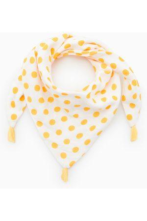 Zara Driehoekig sjaaltje met stippen