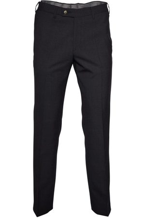 Gardeur Pantalon wol model Bardo antraciet