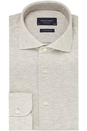 Profuomo The knitted shirt melange