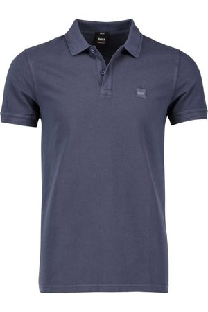 HUGO BOSS Polo donkerblauw Prime slim fit