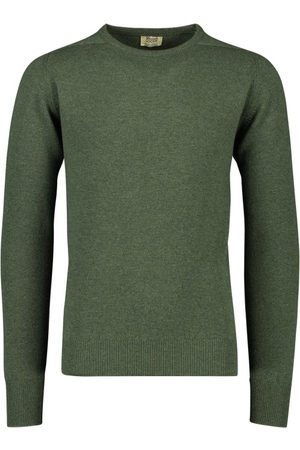 William Lockie Pullover ronde hals lamswol