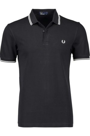 Fred Perry Heren Poloshirts - Twin tipped polo met logo