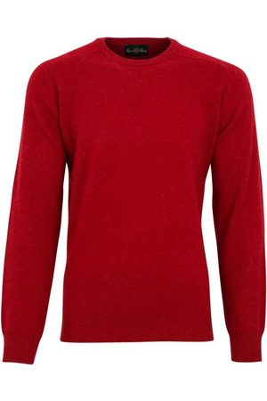 Alan Paine Heren Pullovers - Pullover lamswol ronde hals