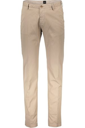 HUGO BOSS Pantalon katoen rice