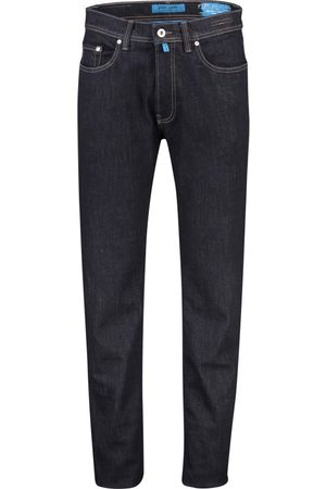 Pierre Cardin Heren Jeans - Jeans Lyon tapered fit donkerblauw