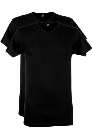 Alan Red T-shirt v-hals 2-pack