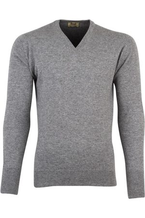 William Lockie Trui v-hals cashmere