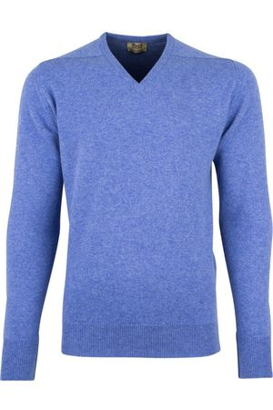 William Lockie Pullover v-hals lamswol