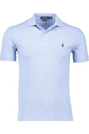 Ralph Lauren Slim fit Polo lichtblauw