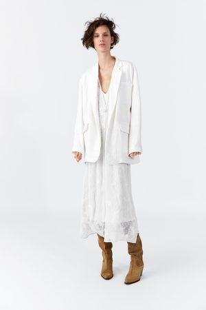 Zara Oversized linnen vest