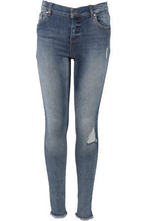 Only Kids Meisjes Skinny - Konblush Skinny Raw Jeans Rea333
