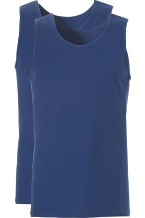 Ten Cate Heren Tops & Shirts - Singlet denim 2 Pack maat S