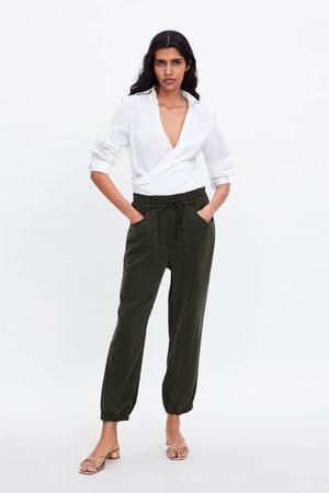 Zara Dames Pyjama's - Pyjamabroek met zakken